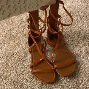 Charlotte Russe High Rise Sandals